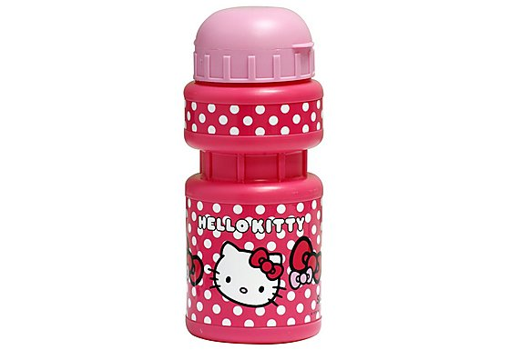 Hello Kitty Kids Bike Water Bottle