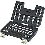 Halfords Advanced Professional 28 Piece Metric Socket Set 3/8""