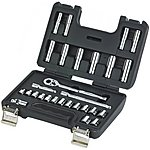 image of Halfords Advanced 28 Piece Metric Socket Set 3/8""