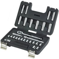 Halfords Advanced 28 Piece Metric Socket Set 3/8""