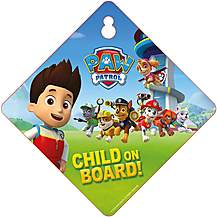 image of Paw Patrol Baby on Board Sign