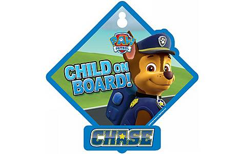 image of Chase Baby on Board Sign
