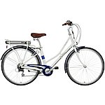 "image of Pendleton Somerby Electric Bike - White & Navy - 17"", 19"" Frames"