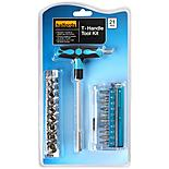 Halfords 21 Piece T-bar Tool Kit