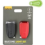 image of Halfords Silicone Bike Light Set