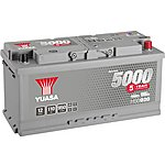 image of Yuasa 12V Silver Car Battery HSB020 - 5 Yr Guarantee