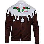 Scimitar Christmas Pudding Cycling Jersey