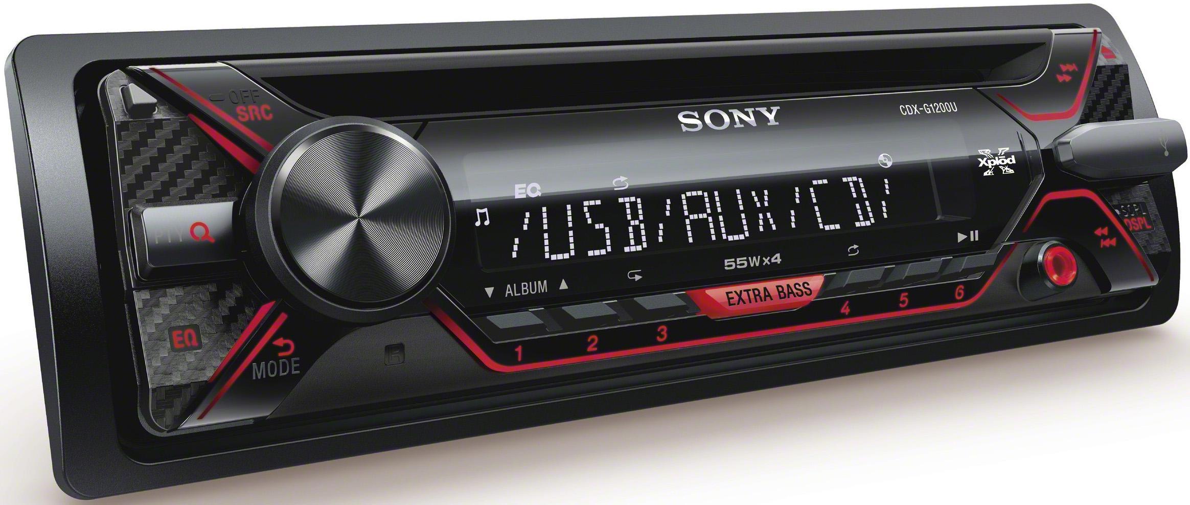 sony car stereo. sony cdx-g1200u car stereo m