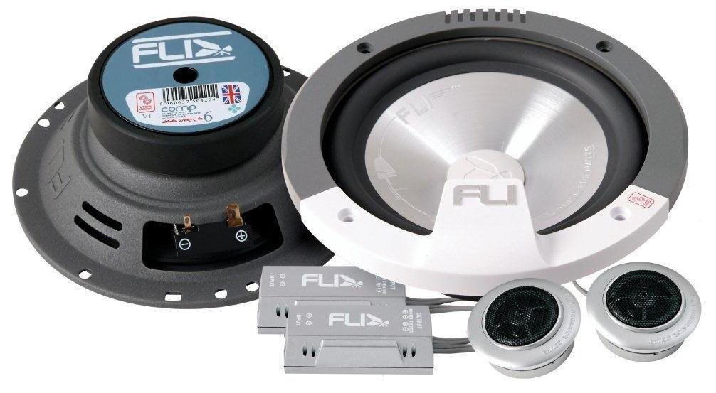 speakers car. image of fli fi6 comp-f3 component speakers car