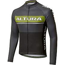 image of Altura Mens LS Strada Jersey Black