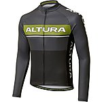 image of Altura Mens LS Strada Jersey Black