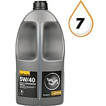 image of Halfords 5W40 Fully Synthetic Turbo Diesel Oil 5L