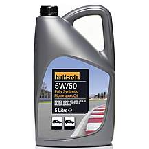 image of Halfords 5W50 Fully Synthetic Track Day Oil 5L
