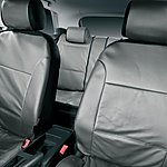 image of Halfords Advanced Leather Look Car Seat Covers - Grey