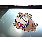 image of Storm Graphics Bulldog Car Sticker