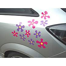 image of Storm Graphics Splat! Car Stickers