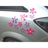 Storm Graphics Splat! Car Stickers