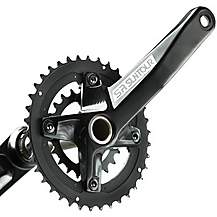 image of Suntour XCR-D Chainset 36/22T-170mm Cranks