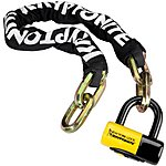 image of Kryptonite New York Fahgettaboudit 100cm Chain and Padlock