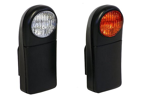 Halfords Value Bike Light Set