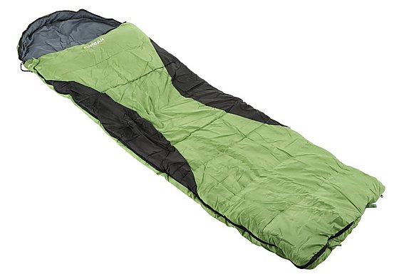 Urban Escape Garda Envelope Sleeping Bag Green
