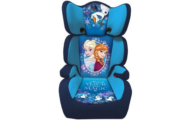 Frozen Elsa And Anna Purple Double Sided Car Seat By Bbsbanners