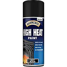 image of Hammerite High Heat Paint 400ml