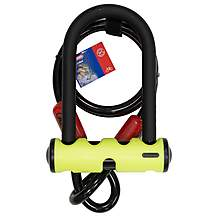 image of Abus Mini Gold Shackle Bike Lock