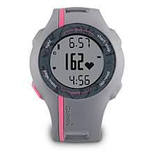image of Garmin Forerunner 110 Womens GPS Enabled Sports Watch - Pink