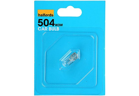 Halfords (HBU504) 3W Single Car Bulb