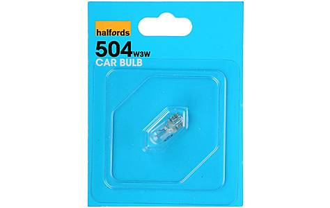 image of Halfords (HBU504) 3W Single Car Bulb