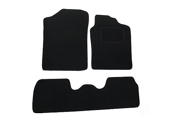 Halfords (SS2013) Citroen Berlingo Car Mats (to 08) BLK