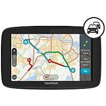 image of TomTom GO 520 Car Sat Nav with Wi-Fi, World Maps, Siri and Google Now integration