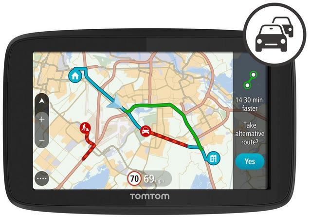 TomTom GO 520 Car Sat Nav with Wi-Fi, World Maps
