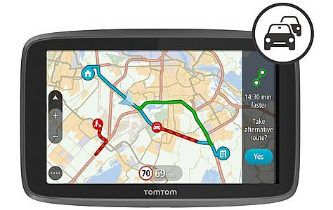 """image of TomTom GO 6200 6"""" Sat Nav with WiFi, Digtal Traffic & World Maps"""