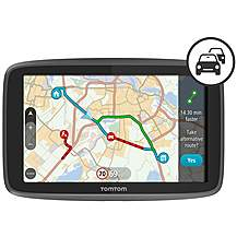 image of TomTom GO 6200 Car Sat Nav with Wi-Fi, SIM Card, World Maps, Siri and Google Now integration