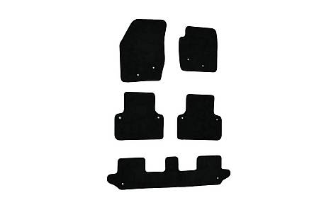 image of Halfords (SS2130) Volvo XC90 Car Mats Black (2002-2014)