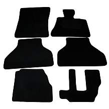 image of Halfords (SS2282) BMW X5 7 Seat Car Mats (06 - 13) - Black