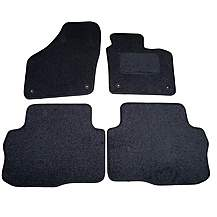 image of Halfords Advanced Fully Tailored (SS4390) VW Sharan Car Mats (2010 onwards) - Black