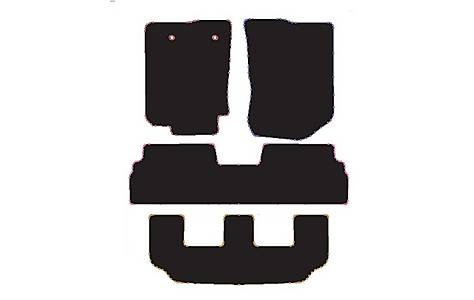 image of Halfords (SS3265) Toyota Corolla Verso Car Mats (04-09) BLK