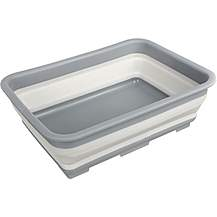 image of Halfords Collapsible Washing Bowl Green New