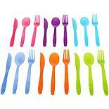 Halfords Plastic Cutlery set of 18
