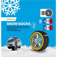 Universal Multigrip Snow Socks Large