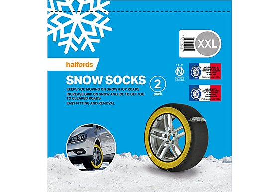 Universal Multigrip Snow Socks XXL