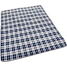 image of Halfords XL Waterproof Tartan Picnic Blanket New