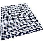 image of Halfords XL Waterproof Tartan Picnic Blanket New