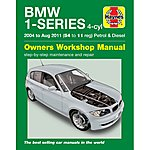 image of Haynes BMW 1 Series (04 to Aug 11) Manual