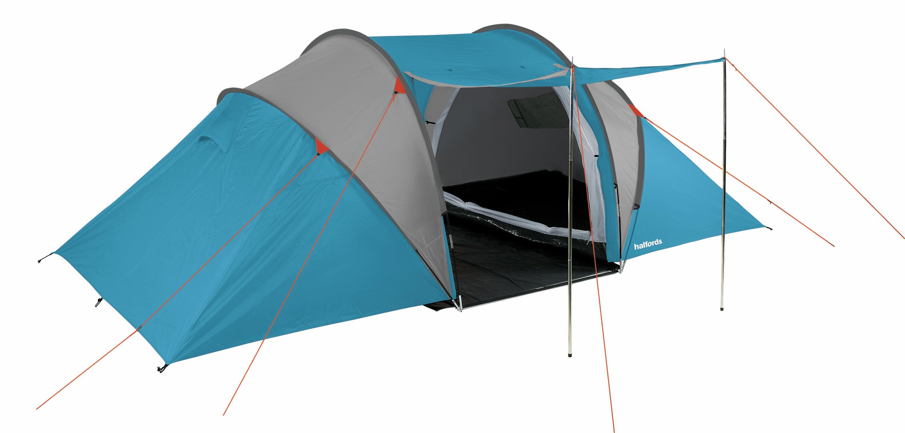 Halfords 4 Man Vis A Vis Tent - Light Blue  sc 1 st  Halfords & Halfords 4 Man Vis A Vis Tent - Lig...