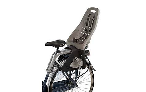 image of Yepp Maxi Rear Child Bike Seat - Silver