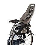 image of Yepp Maxi Rear Child Bike Seat - Silver